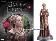 Game Of Thrones Official Collector's Models #04 Cersei Lannister Figurine & Magazine Eaglemoss